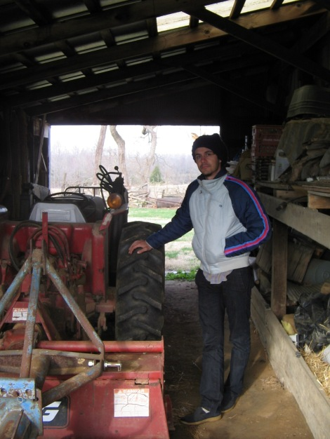Granddad's tractor