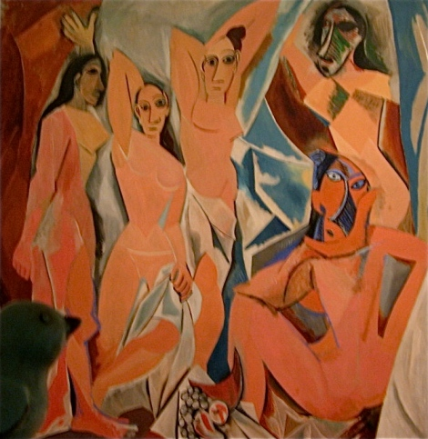 Let viewing Picasso's Les Demoiselles