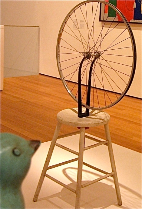 Let viewing Duchamp's Bicycle Wheel