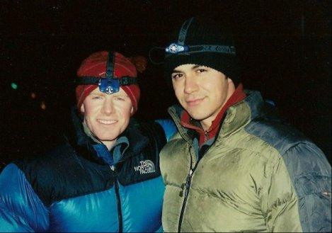 Scott Jones M.D., climbing partner and team physician