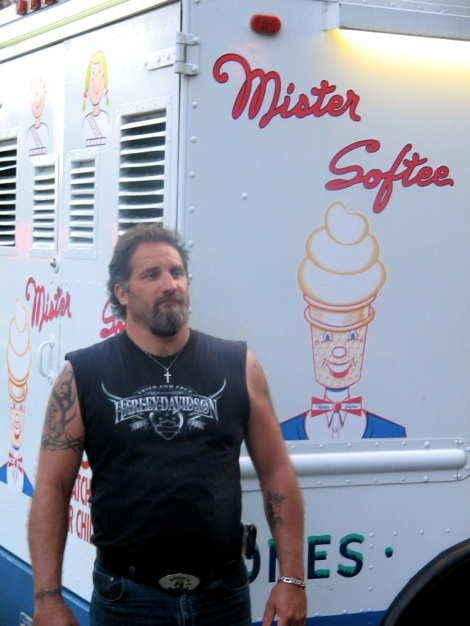 Introducing my friend Mister Softee
