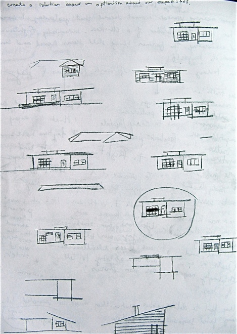 deciding on a house