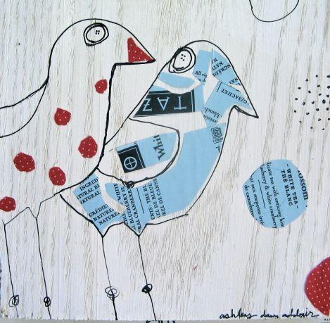 birds on a shelf 3